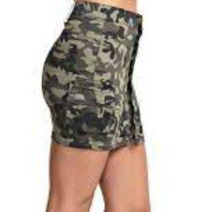 KANCAN Mini skirt, camouflage fabric, SIZE S